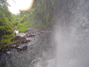 View From inside the Waterfall